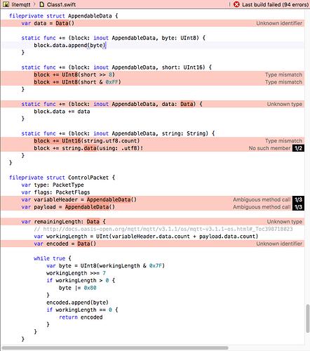 Swift Data To String