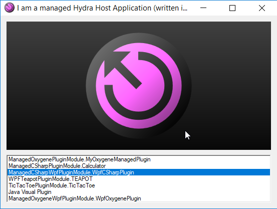 Hydra 6, loading wpf plugin change appearance of host