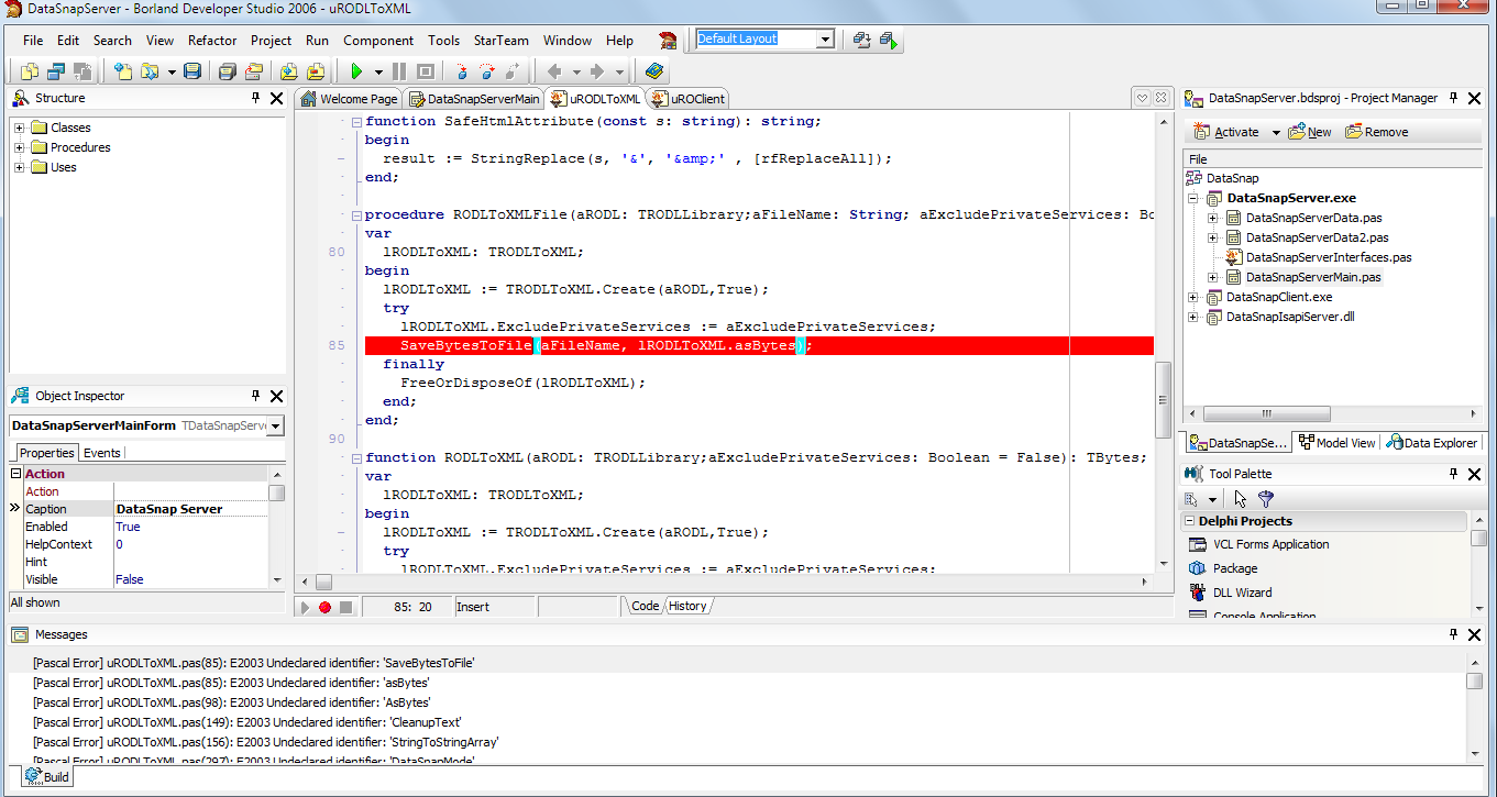 RemObjects Remoting SDK for Delphi 9 6 113 1419 in BDS 2006